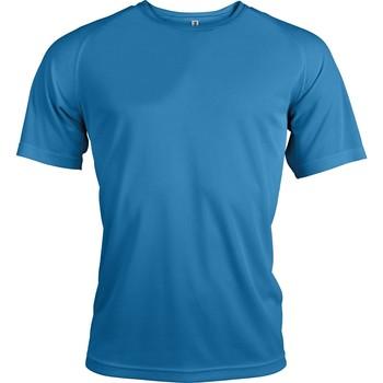 Oblečenie Muži Tričká s krátkym rukávom Proact T-Shirt manches courtes  Sport bleu ciel