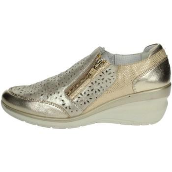 Topánky Ženy Mokasíny Riposella C212 Platinum