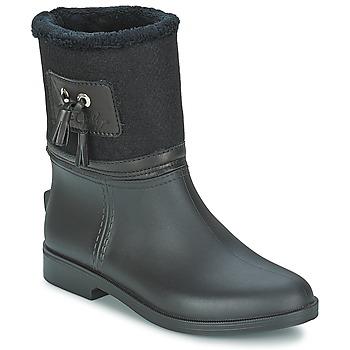 Topánky Ženy Čižmy do dažďa Be Only DIVINE Čierna