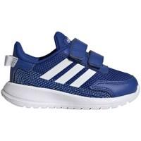 Topánky Chlapci Bežecká a trailová obuv adidas Originals Tensaur Run I Modrá