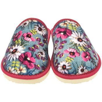 Topánky Ženy Papuče John-C Dámske ružové papuče EDNA mix