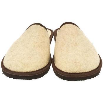 Topánky Muži Papuče Bins Pánske béžové papuče JAROSLAV béžová
