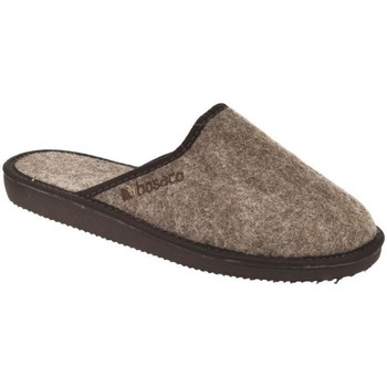 Topánky Muži Papuče Bins Pánske hnedé papuče JAROSLAV hnedá