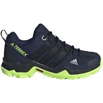 Topánky Chlapci Bežecká a trailová obuv adidas Originals Terrex AX2R K Čierna,Tmavomodrá