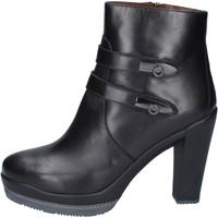 Topánky Ženy Čižmičky Guardiani Členkové Topánky BN363 Čierna