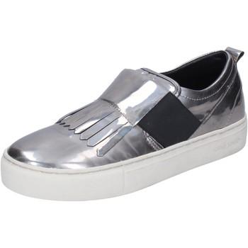 Topánky Ženy Slip-on Crime London Navliecť Sa BN383 Striebro