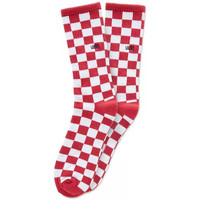 Textilné doplnky Muži Ponožky Vans Checkerboard crew Červená