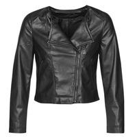 Oblečenie Ženy Kožené bundy a syntetické bundy Only ONLDALY Čierna