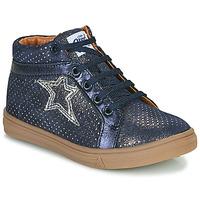 Topánky Dievčatá Členkové tenisky GBB NAVETTE Modrá