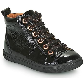 Topánky Dievčatá Členkové tenisky GBB INNA Čierna