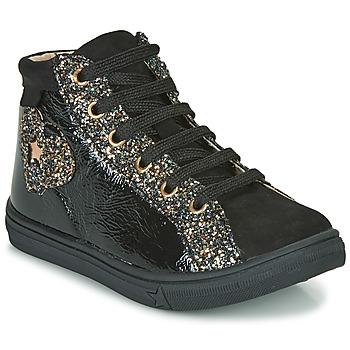 Topánky Dievčatá Členkové tenisky GBB MARTA Čierna