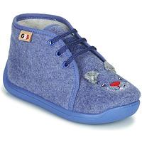 Topánky Chlapci Papuče GBB KYLAE Modrá