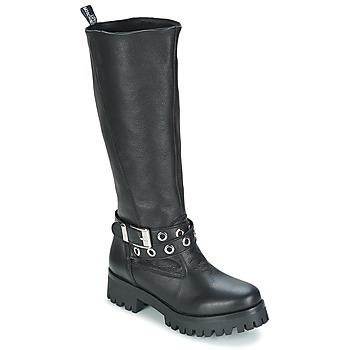 Topánky Ženy Čižmy do mesta Love Moschino GROGI čierna