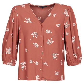 Oblečenie Ženy Košele a blúzky Vero Moda VMJILLEY Bordová