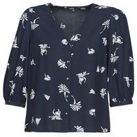 Oblečenie Ženy Košele a blúzky Vero Moda VMJILLEY Námornícka modrá