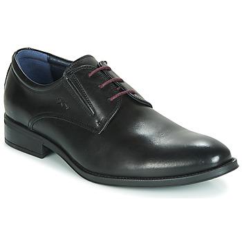 Topánky Muži Derbie Fluchos HERACLES Čierna