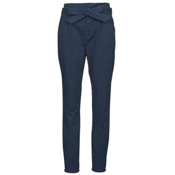 Oblečenie Ženy Nohavice päťvreckové Vero Moda VMEVA Námornícka modrá