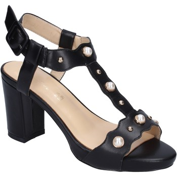 Topánky Ženy Sandále Brigitte sandali pelle sintetica Nero