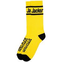 Textilné doplnky Muži Ponožky Jacker After logo socks Žltá