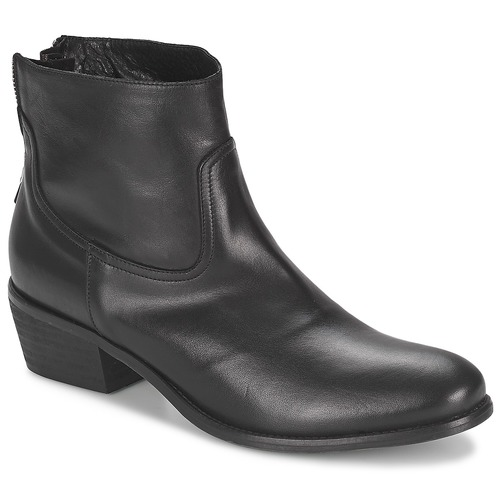 Topánky Ženy Polokozačky Meline SOFMET Čierna