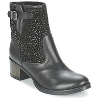 Topánky Ženy Čižmičky Meline NERCRO Čierna