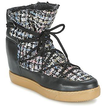 Topánky Ženy Polokozačky Meline DERNA Čierna