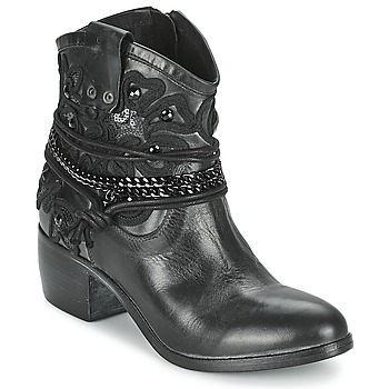Topánky Ženy Polokozačky Mimmu KAL čierna