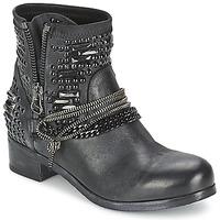 Topánky Ženy Polokozačky Mimmu LIL čierna