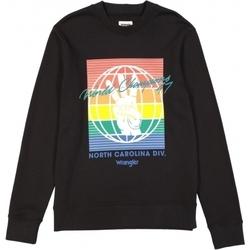Oblečenie Muži Mikiny Wrangler Sweat  Globe noir/multicolore