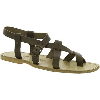 Topánky Ženy Sandále Gianluca - L'artigiano Del Cuoio 530 U FANGO CUOIO Fango