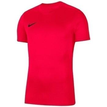 Oblečenie Chlapci Tričká s krátkym rukávom Nike JR Dry Park Vii Červená
