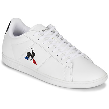 Topánky Muži Nízke tenisky Le Coq Sportif COURTSET Biela / Námornícka modrá