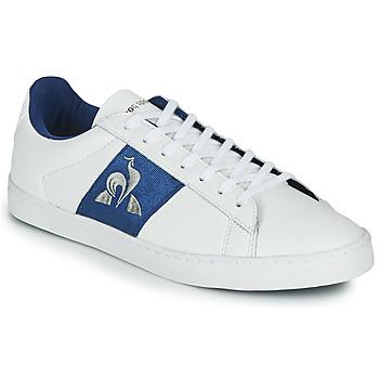 Topánky Ženy Nízke tenisky Le Coq Sportif ELSA Biela / Modrá