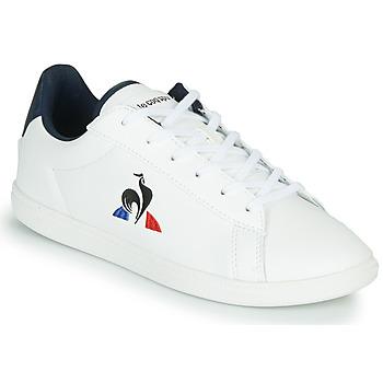 Topánky Deti Nízke tenisky Le Coq Sportif COURTSET GS Biela / Modrá
