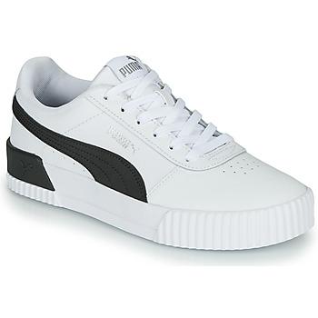 Topánky Ženy Nízke tenisky Puma CARINA Biela / Čierna