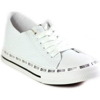 Topánky Ženy Nízke tenisky Big Star FF274024 Biela