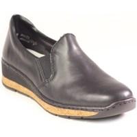 Topánky Ženy Mokasíny Rieker 5976600 Čierna