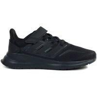 Topánky Deti Bežecká a trailová obuv adidas Originals Runfalcon C Čierna