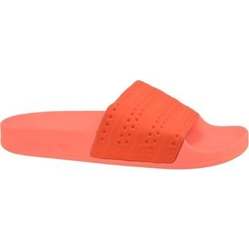 Topánky Muži športové šľapky adidas Originals Adilette Červená,Oranžová