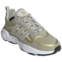 Topánky Deti Bežecká a trailová obuv adidas Originals Haiwee J Zelená,Žltá