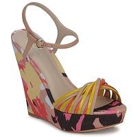 Topánky Ženy Sandále Bourne KARMEL Béžová / Viacfarebná