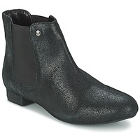 Topánky Ženy Polokozačky Elle MABILLON Čierna / Brillant