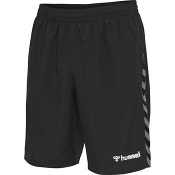 Oblečenie Muži Šortky a bermudy Hummel Short  Authentic Training noir/blanc