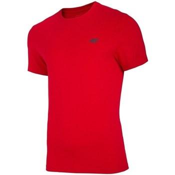 Oblečenie Muži Tričká s krátkym rukávom 4F TSM003 Červená