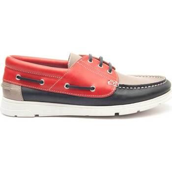 Topánky Muži Námornícke mokasíny Keelan 63833 MULTICOLORED