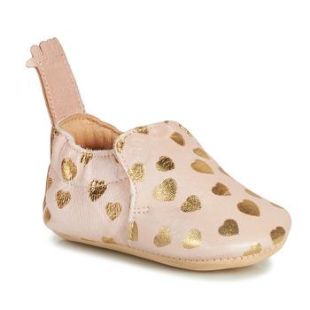 Topánky Deti Papuče Easy Peasy BLUMOO Ružová