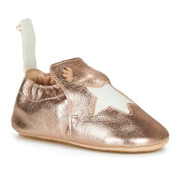 Topánky Deti Papuče Easy Peasy BLUBLU ETOILE Ružová / Zlatá