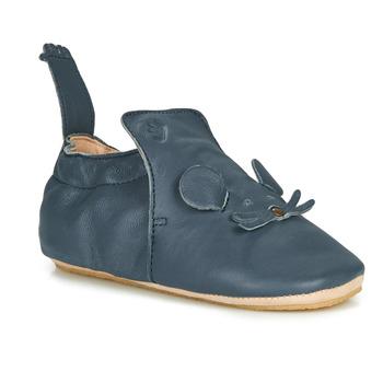 Topánky Deti Papuče Easy Peasy BLUBLU MOUSE Modrá