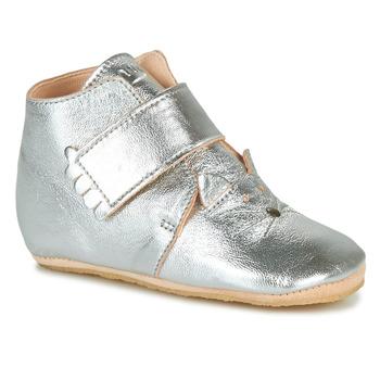 Topánky Dievčatá Papuče Easy Peasy KINY CHAT Strieborná