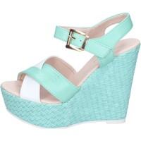 Topánky Ženy Sandále Solo Soprani Sandále BN643 Zelená